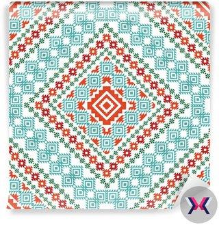 Aztec ornament geometryczny