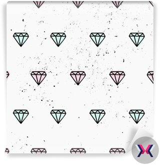 Ręcznie rysowane diamenty bez szwu