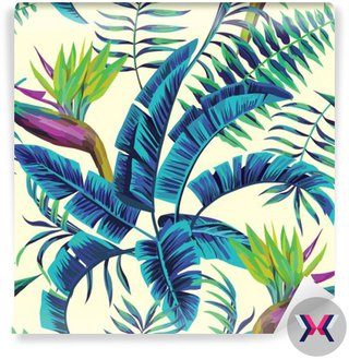 Tropical egzotycznych malowanie tła bez szwu