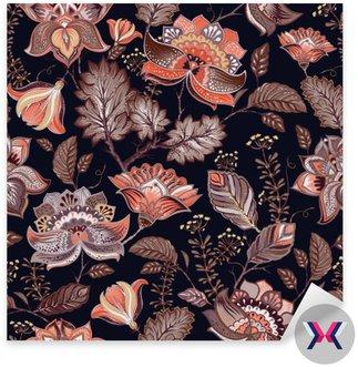 Vintage szwu. Kwiaty tła w stylu prowansalskim.