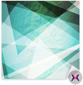 Abstrakcja retro trójkąty grunge wektora tle