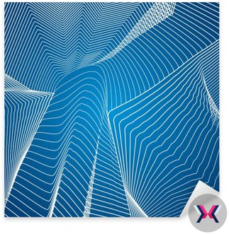 Białe linie, skład abstrakcji, góry, wektor wzór tła