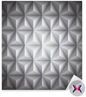 Szary Geometria abstrakcyjne low-poly tło papieru. Wektor