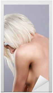Piękne topless blonde