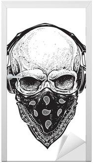 Skull ze słuchawkami