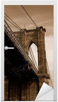 Brooklyn Bridge w sepii