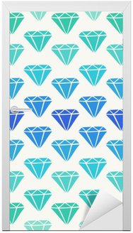 Diament Kształty Seamless Pattern