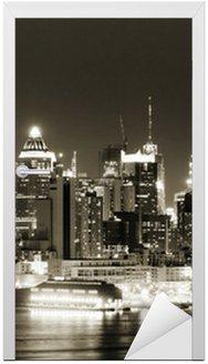West Side na Manhattanie w nocy