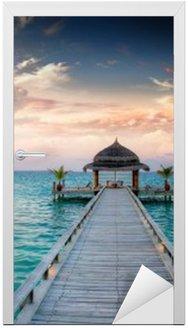 Sunset / sunrise Molo na Malediwach / Malediven