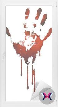 Krwawe handprint