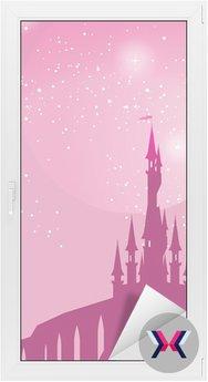 Pink fairy na muchomora