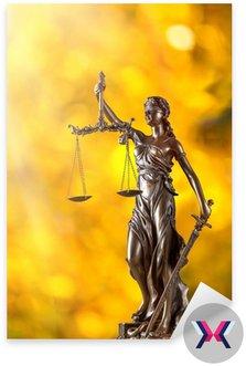 Themis w centrum uwagi - koncepcja sprawiedliwości