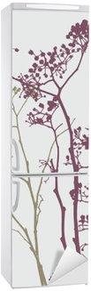 Nálepka na Ledničku Rostliny a květiny