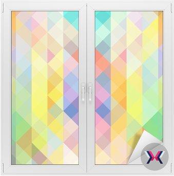 Kolorowe mozaiki kształty, abstrakcyjne tło
