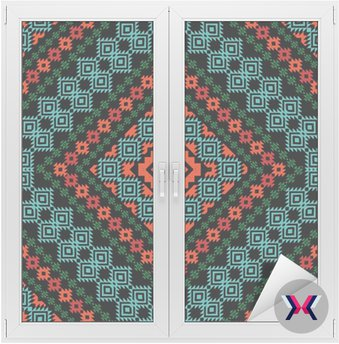 Tribal ornamental pattern