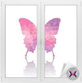 Abstrakcyjne geometryczne motyl