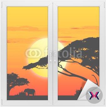 Africa sundown