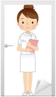 Kobieta pielęgniarka pielęgniarka