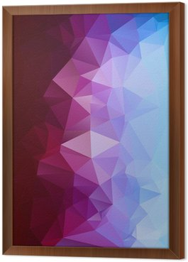 Abstract polygonal background.