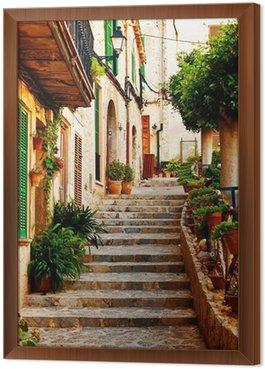 Ulica w miejscowości Valldemossa na Majorce