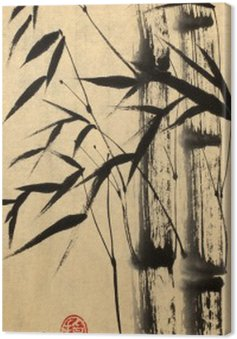 Two bamboo tree