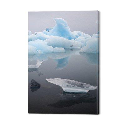 Krajobraz góry lodowej