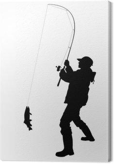 Rybak łowienie ryb