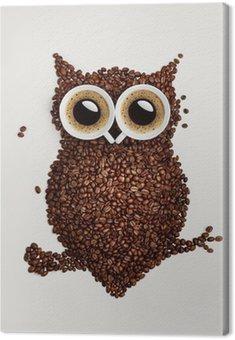 Sowa kawy.