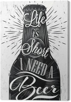 Plakat rocznika piwo