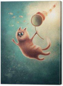 Red Cat połowu ryby