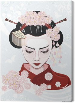 Piękna kobieta japońskie