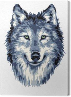 Niebieski Wilk dzikich