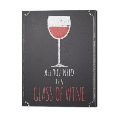 Tablica czerwony design wina