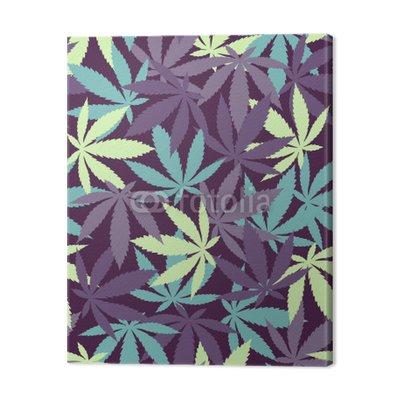 Marihuana roślin - powtarzalne wzór