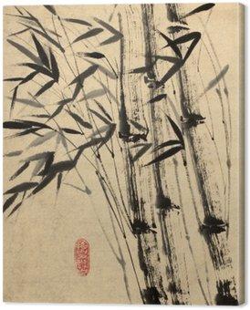 Oryginalny rysunek bambusa