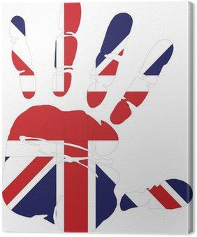 Print Hand of Great Britain