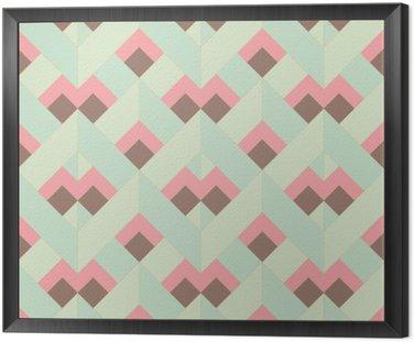 Wektor kolorowe abstrakcyjne retro geometryczny wzór
