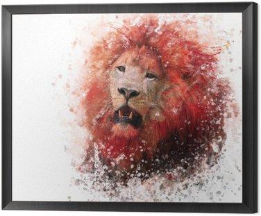 Lion Head akwarela