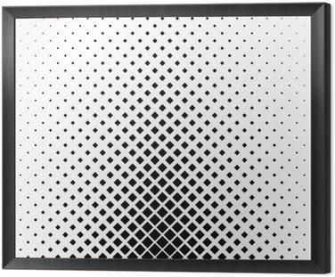 Monochromatyczny kwadrat wzór tła projektowania