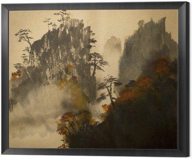 Jesień w górach Chin