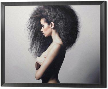 Piękne kobiety z wspaniałe włosy