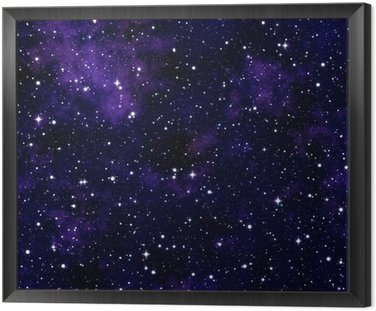 Seamless texture simulating the night sky
