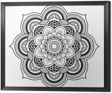 Mandala. okrągły ornament