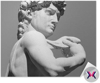 David przez Michelangelo - słynnego włoskiego renesansu rzeźby,