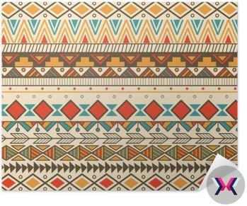 Aztec tribal wzór w paski
