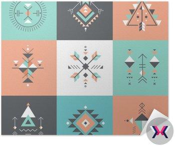 Esoteric, Alchemia, świętej geometrii, tribal i Azteków, świętej geometrii, Mystic kształty, symbole