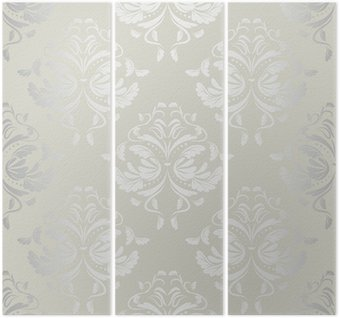 Bezszwowe tło wallpaper.damask pattern.floral