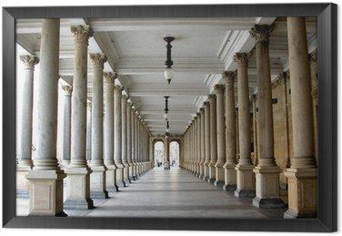 Kolumnada w słynnym kurorcie Karlowych Warach aka Karlsbad