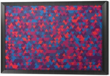 Abstrakcyjne tło z trójkątów. Gradacja fioletu. Fioletowe barwy.