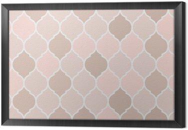 Jednolite wzór różowe kafelki, wektor
